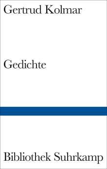 Gertrud Kolmar: Gedichte, Buch