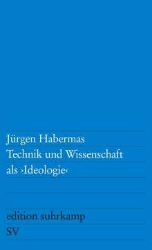 Jürgen Habermas: Technik und Wissenschaft als Ideologie, Buch