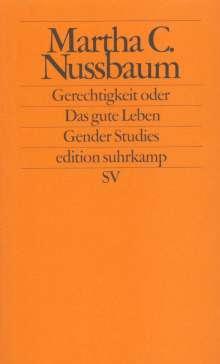 Martha C. Nussbaum: Gerechtigkeit oder Das gute Leben, Buch
