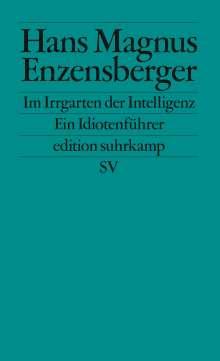 Hans Magnus Enzensberger: Im Irrgarten der Intelligenz, Buch