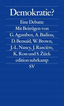 Giorgio Agamben: Demokratie?, Buch