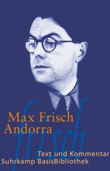 Max Frisch: Andorra. Mit Materialien, Buch