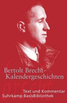 Bertolt Brecht: Kalendergeschichten, Buch