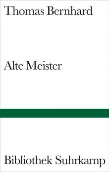 Thomas Bernhard: Alte Meister, Buch