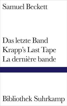 Samuel Beckett: Das letzte Band. Krapp's Last Tape. La dernière bande, Buch