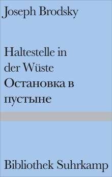 Joseph Brodsky: Haltestelle in der Wüste, Buch