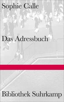 Sophie Calle: Das Adressbuch, Buch