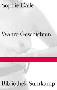 Sophie Calle: Wahre Geschichten, Buch