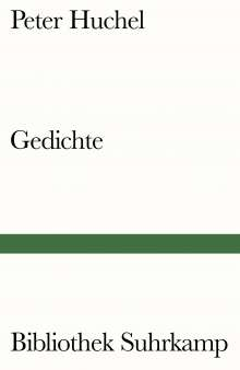 Peter Huchel: Gedichte, Buch
