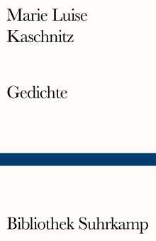 Marie Luise Kaschnitz: Gedichte, Buch