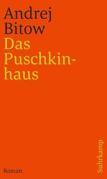 Andrej Bitow: Das Puschkinhaus, Buch