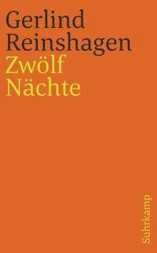 Gerlind Reinshagen: Zwölf Nächte, Buch