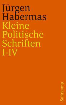 Jürgen Habermas: Kleine Politische Schriften (I-IV), Buch