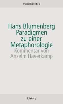 Hans Blumenberg: Paradigmen zu einer Metaphorologie, Buch