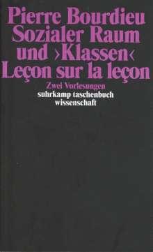 """Pierre Bourdieu: Sozialer Raum und """"Klassen"""", Buch"""
