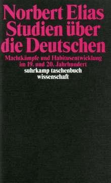 Norbert Elias: Studien über die Deutschen, Buch