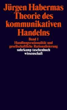 Jürgen Habermas: Theorie des kommunikativen Handelns, Buch