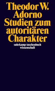 Theodor W. Adorno: Studien zum autoritären Charakter, Buch