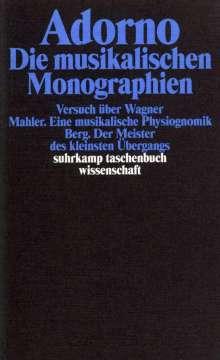 Theodor W. Adorno: Die musikalischen Monographien, Buch