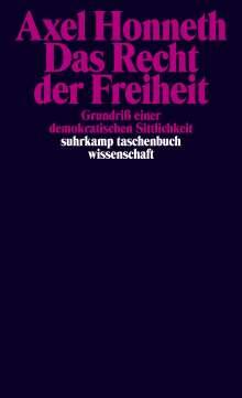 Axel Honneth: Das Recht der Freiheit, Buch
