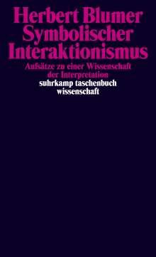 Herbert Blumer: Symbolischer Interaktionismus, Buch
