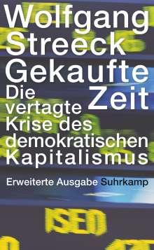 Wolfgang Streeck: Gekaufte Zeit, Buch