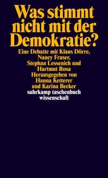 Klaus Dörre: Was stimmt nicht mit der Demokratie?, Buch