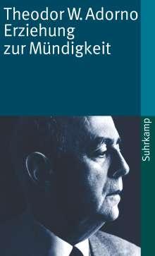 Theodor W. Adorno: Erziehung zur Mündigkeit, Buch