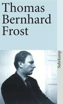 Thomas Bernhard: Frost, Buch