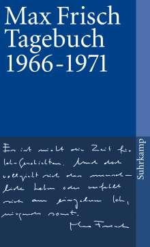 Max Frisch: Tagebuch 1966-1971, Buch