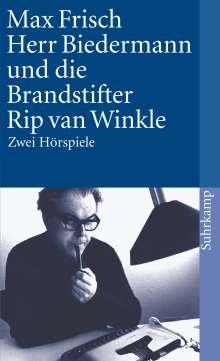 Max Frisch: Herr Biedermann und die Brandstifter / Rip van Winkle, Buch