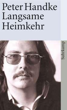 Peter Handke: Langsame Heimkehr, Buch