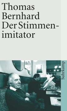Thomas Bernhard: Der Stimmenimitator, Buch