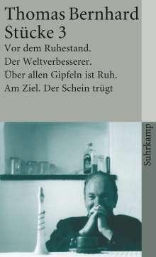 Thomas Bernhard: Stücke III, Buch