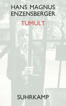 Hans Magnus Enzensberger: Tumult, Buch