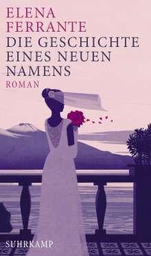 Elena Ferrante: Die Geschichte eines neuen Namens, Buch