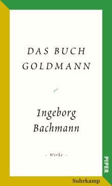 Ingeborg Bachmann: Das Buch Goldmann, Buch