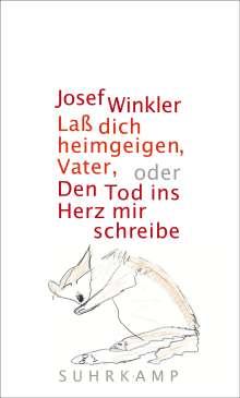 Josef Winkler: Laß dich heimgeigen, Vater, oder Den Tod ins Herz mir schreibe, Buch
