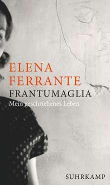 Elena Ferrante: Frantumaglia, Buch
