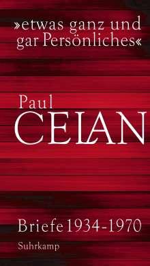 Paul Celan: »etwas ganz und gar Persönliches«, Buch