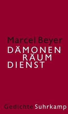 Marcel Beyer: Dämonenräumdienst, Buch