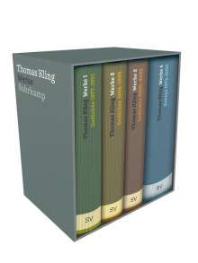 Thomas Kling: Werke in vier Bänden, Buch