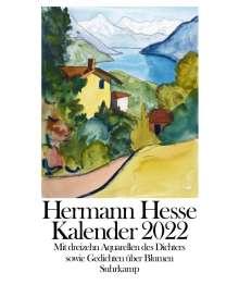 Hermann Hesse: Kalender 2022, Kalender