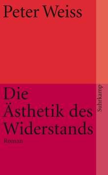 Peter Weiss: Ästhetik des Widerstands, Buch