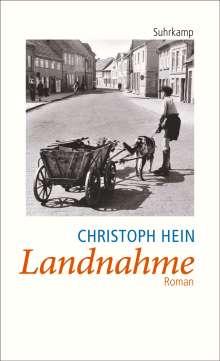 Christoph Hein: Landnahme, Buch