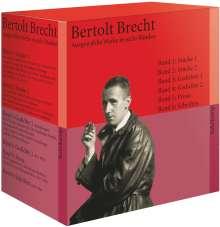 Bertolt Brecht: Ausgewählte Werke in sechs Bänden, Buch