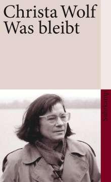 Christa Wolf: Was bleibt, Buch