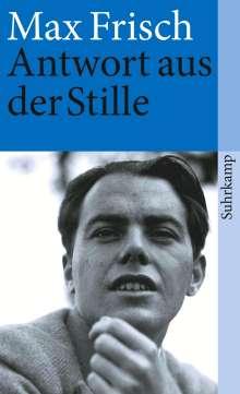 Max Frisch: Antwort aus der Stille, Buch