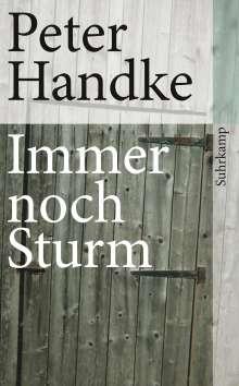 Peter Handke: Immer noch Sturm, Buch
