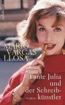 Mario Vargas Llosa: Tante Julia und der Schreibkünstler, Buch